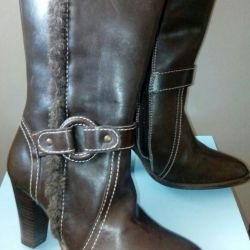 Dem μπότες, μέγεθος 36, δέρμα