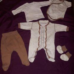 Newborn kit on discharge