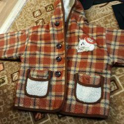 Autumn coat 2,5year