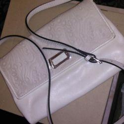Clutch bag white