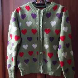 Jacket for girls 9-12 years