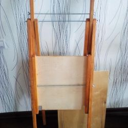 The easel is new
