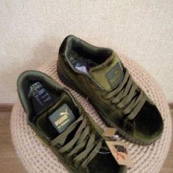 Yeni Puma 36, 37 spor ayakkabı