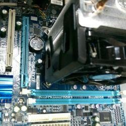gigabyte GA h55m s2a + κύλινδρος ψυγείου ψύξης +