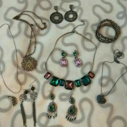Jewelry jewelry earrings necklace pendant