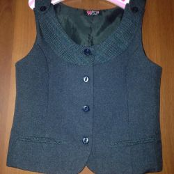 School vest for the girl
