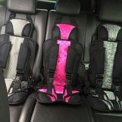 Çocuklar için çerçevesiz araba koltuğu