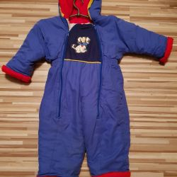 Overalls winter + package of clothes and shoes