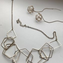 Earrings and Necklaces