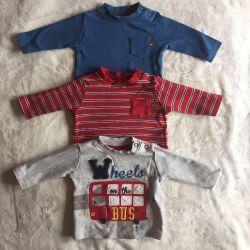 Bluze pe copilul copilului 0-3