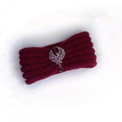 Marsala Knit Headband