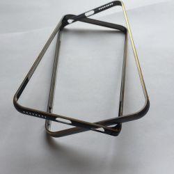 💋Новый Бампер металл золото серебро для iPhone 6+