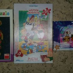 Puzzles for children package