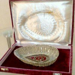Конфетница,скань,в родной упаковке,60-е