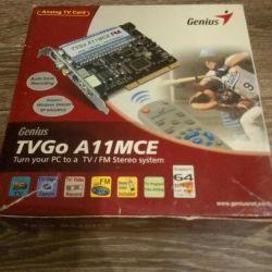 TV tuner for computer TVGo A11MCe FM