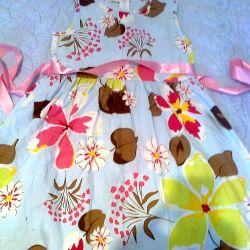 kız için elbise. yaz parlak hb