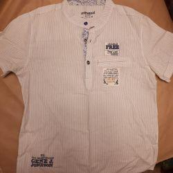 Kısa kollu şık gömlek p134 cm