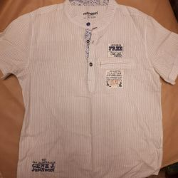 Stylish shirt with short sleeves p134 cm