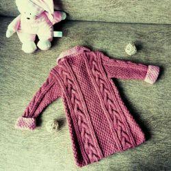 Coat Cardigan (tricotat, nou)