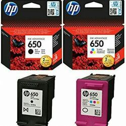 Yeni HP # 650 Kartuş