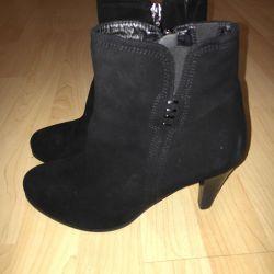 Half boots female winter 37 r.