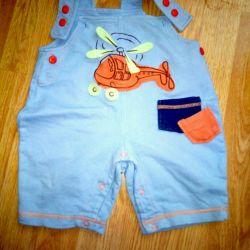 Shorts bib pants sandbox