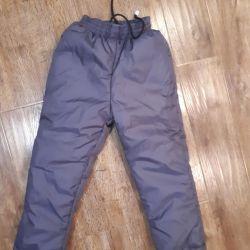 Новые. Зимние штаны