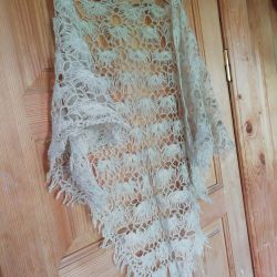 2 Light shawls and a silk scarf