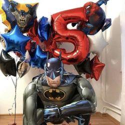 Balloons batman