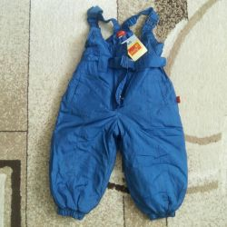 86 cm overalls. New (spring, autumn)
