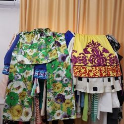 Dresses silk Italy, America original