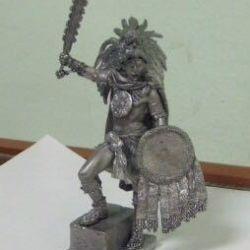 Αρχαίο πολεμιστής κασσίτερου - Αζτέκοι Μάγια