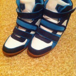 Sneakers natures. Zamsha, 40