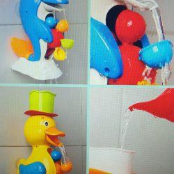 Bath toys.