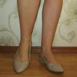 Kadın sandalet, sütlü kahve 38