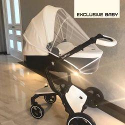 Eko-deride yeni bebek arabası 2v1