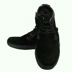 Ботинки нубук мужские