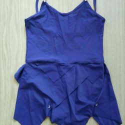 Training swimsuit for dancing, gymnastics