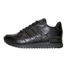 Adidas ZX 750 Black Leather Sneakers