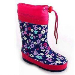 Παιδική μπότες ζεστό από PVC. HJ162-7Β
