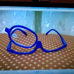 Diyoptri ile makyaj uygulamak için gözlükler