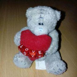 Teddy Bear 8 cm Me to you Teddy Bear with love
