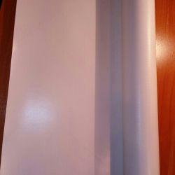 Material de acoperis pvc 650gr 8,20m × 0,55cm, 9m × 0,50s