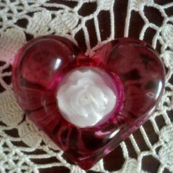 Şamdan kalp (yeni)