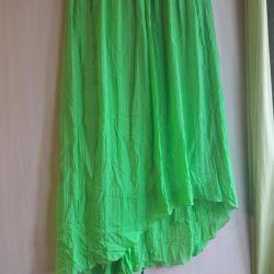Long light skirt