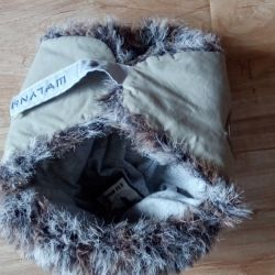 Hat for the winter boy for 2-3 years. Shaluna.