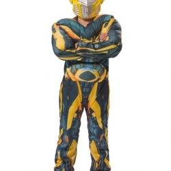 Bumblebee Transformer Costume with Musculature