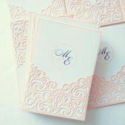 Exquisite Wedding Invitation