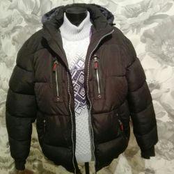Куртка на меху 52-й новая