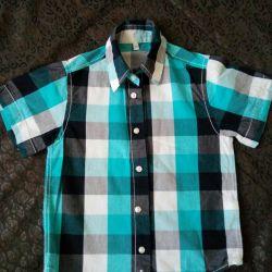 C & A shirt on the boy